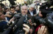 Giuliano Mignini meete the press