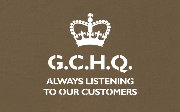 GCHQ satirical logo