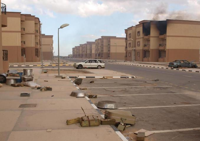 Tawergha is now a ghost town