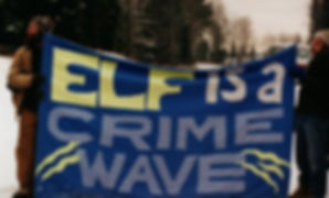 ELF wave protest