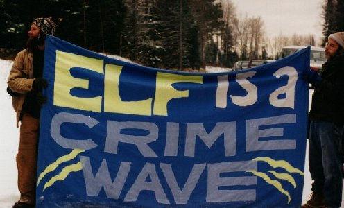ELF wave protest