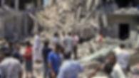 NATO air strike in Tripoli