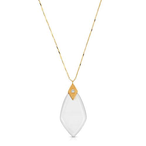 Maya Gold - Magnifier Pendant Necklace