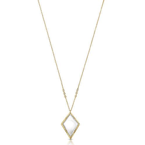 Emmeline Gold - Magnifier Pendant Necklace