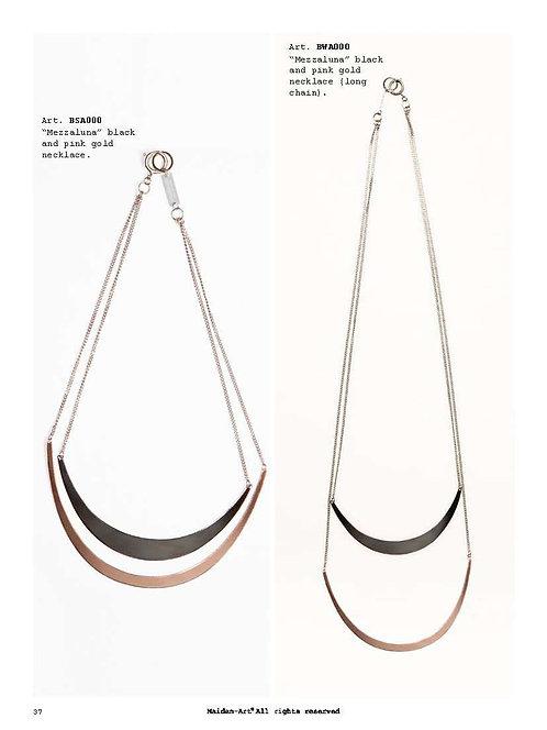 Mezzaluna Combo - Set of Two Necklaces.