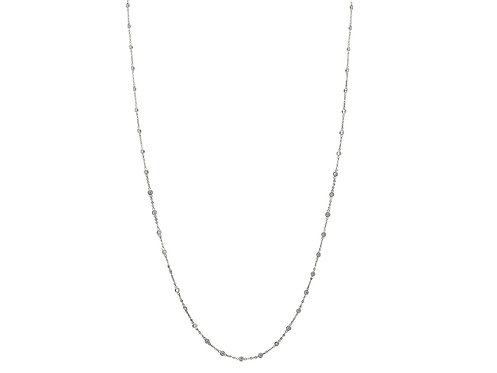 CZ by the Yard Necklace, 40 Inches