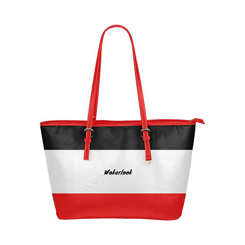 Leather Wakerlook Tote Bag