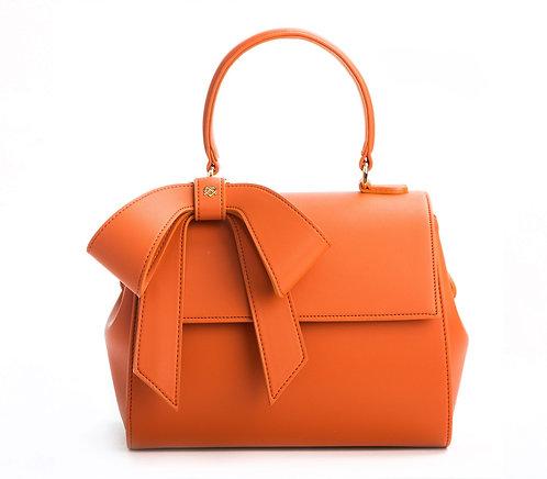 Cottontail - Orange Vegan Leather Bag