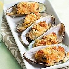 Baked Mussels (5 pieces)