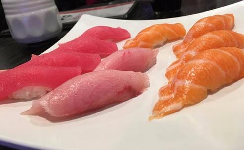 Salmon Sushi, Tuna Sushi, Albacore Sushi