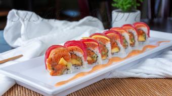 Mango Spicy Tuna Roll