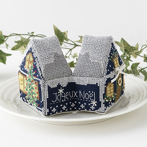 Cross Stitch House <Joyeux Noël>