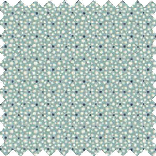Tilda Pollen Teal Fabric (by 0.5m)