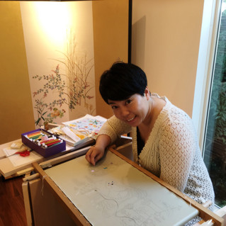 Japanese Embroidery Lesson in Tokyo