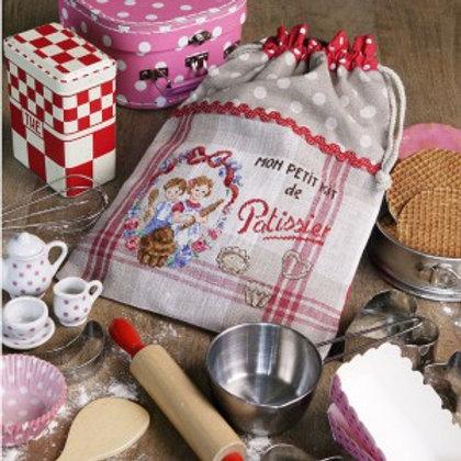 « Mon petit kit de pâtissier » Drawstring pouch
