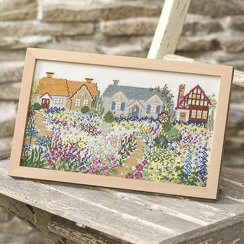 Cross Stitch Frame <Cottage Garden>