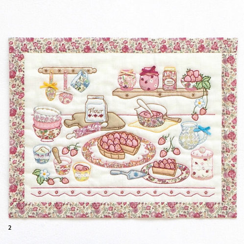 Appliqué Tapestry <Strawberry>