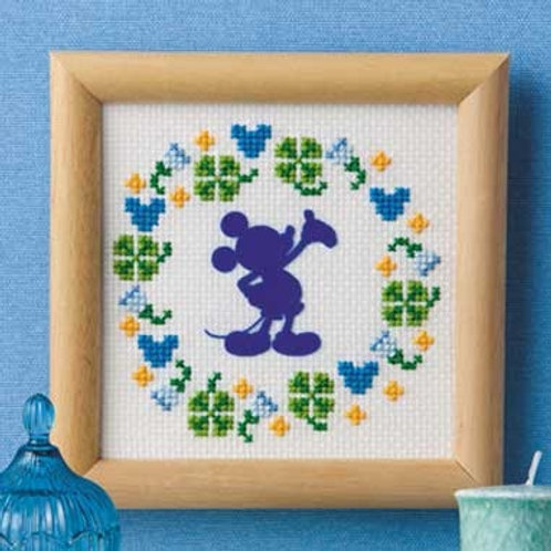 Mickey Mouse Mini Cross Stitch