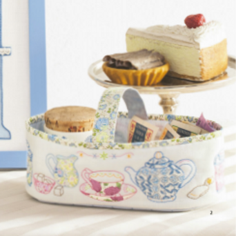 Tea Salon Basket