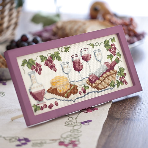 Cross Stitch Frame <Wine>