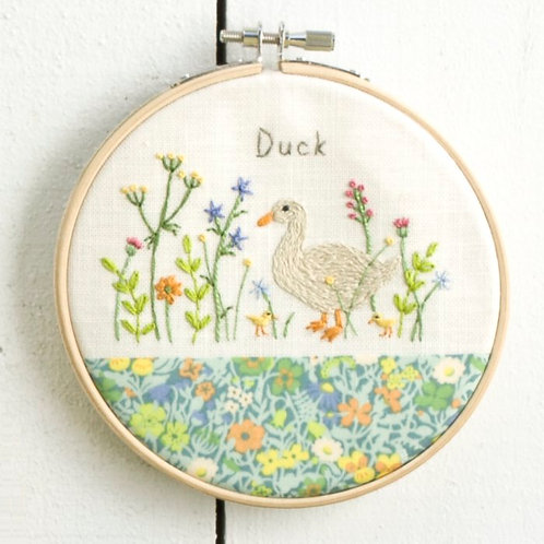 Duck Embroidery Kit