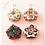 Thumbnail: Cross Stitch Hexagon クロスステッチで作る フランスのかわいいピンクッション ビ