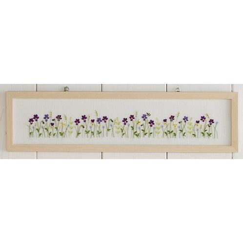 Purple Viola Frame