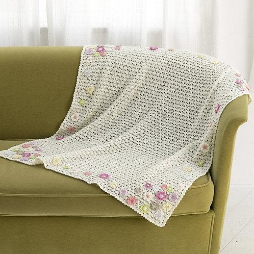 Petit Fleur Blanket (Material Set)