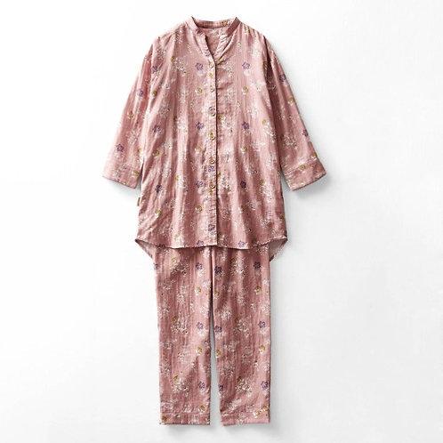 Hello Kitty Long Sleeve Pajamas - PINK