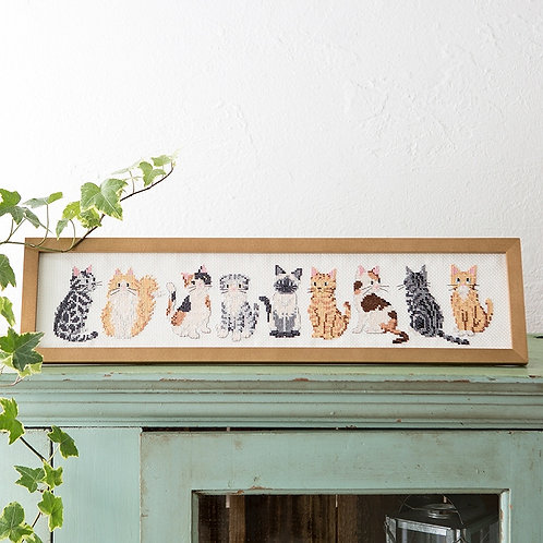 Cross Stitch Frame <Cat>