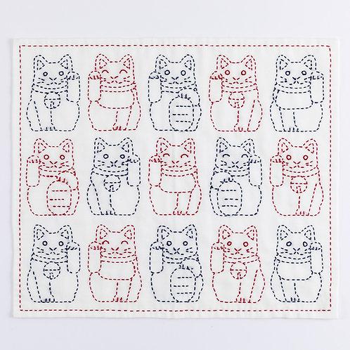 Stitch Cloth <Lucky Cat>