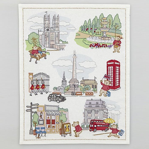 Stitch Cloth<Oliver, London Teddy Bear>