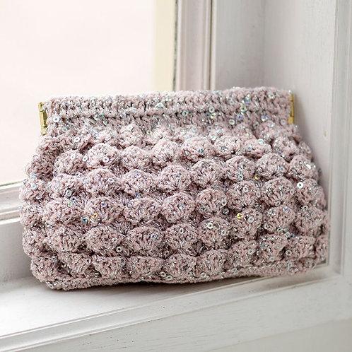 Pinky Crochet Pouch