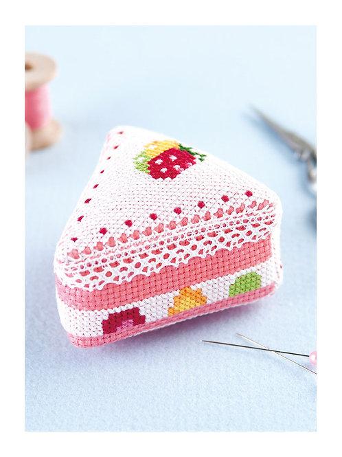 Fruit Cake House Pin Cushion