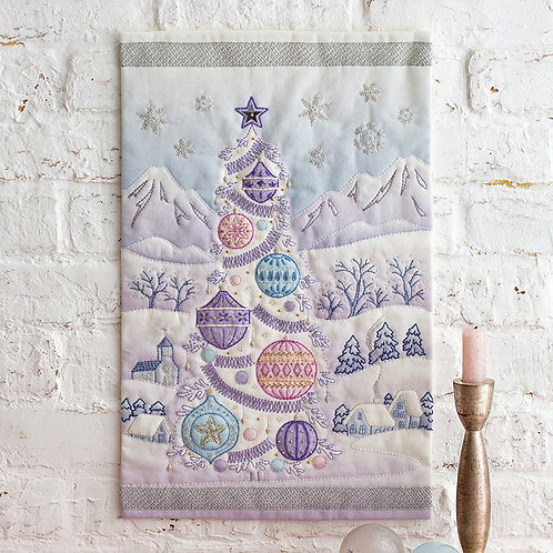 Appliqué Tapestry <Holy Night>