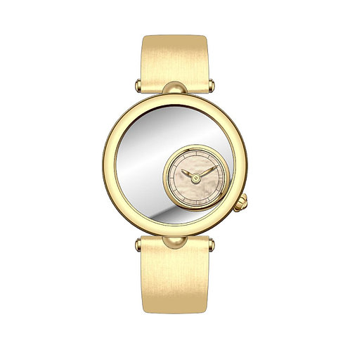 Stainless Steel Embroidery Watch