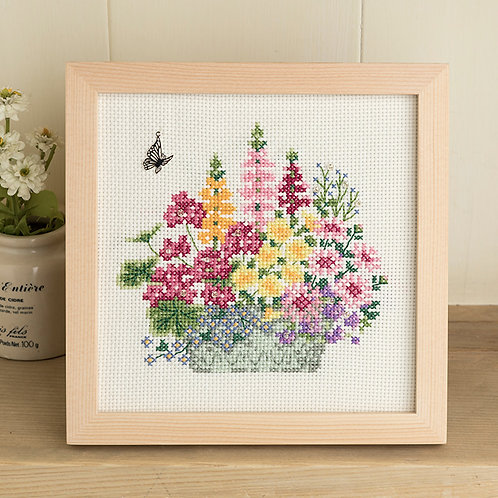 Cross Stitch Frame <Garden>