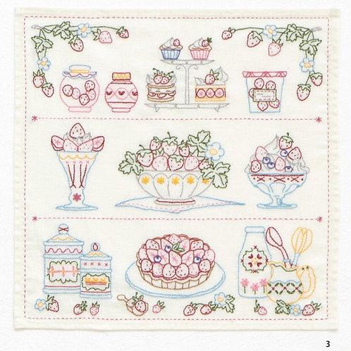 Strawberry Cross Stitch Tapestry