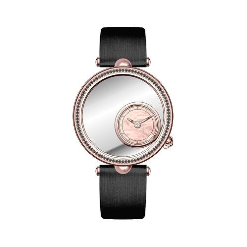 Swarovski Black Zirconia Embroidery Watch