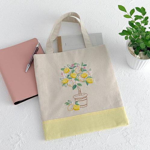 平野明子 Flat Bag <Lemon>