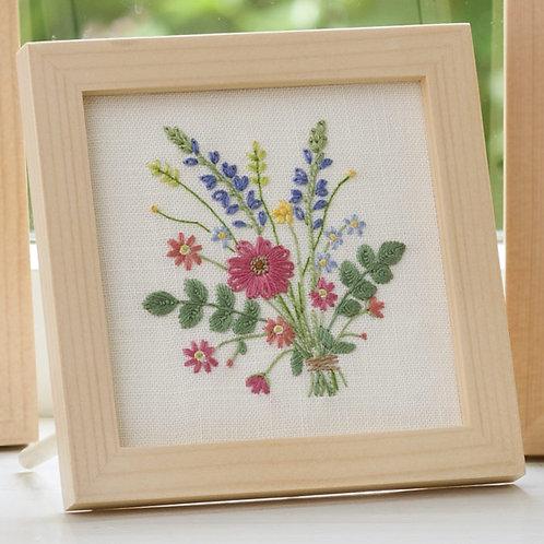 Mini Frame <Garden Bouquet>
