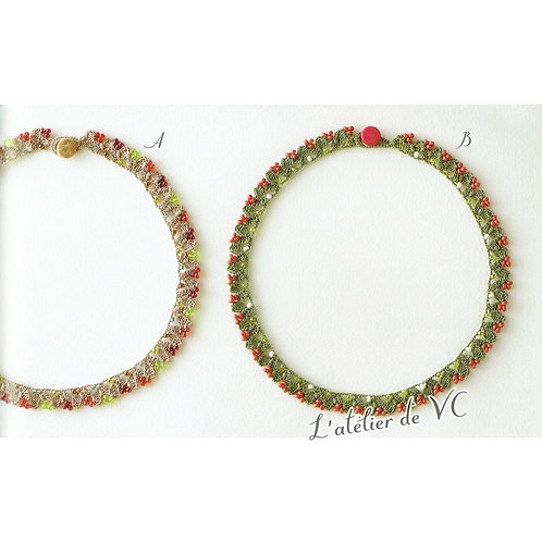 Gummi Motif Necklace material kit