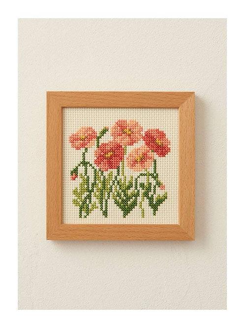 Cross Stitch Frame <Poppy>
