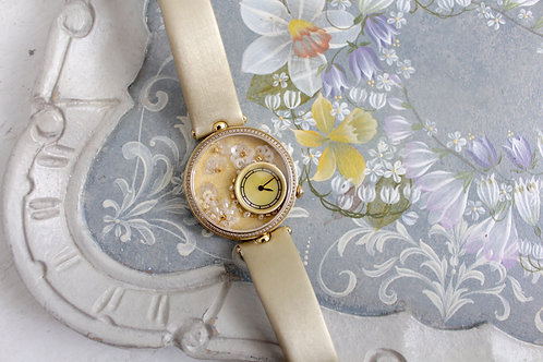 Pearls and Beads Embroidery Watch