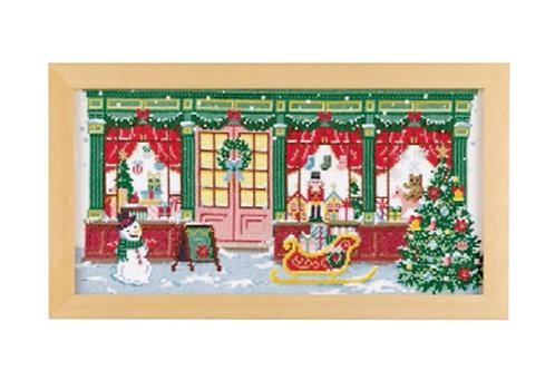 Cross Stitch Frame <Christmas Shop>