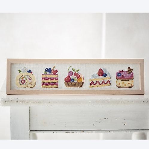 Cross Stitch Frame <Shortcakes>