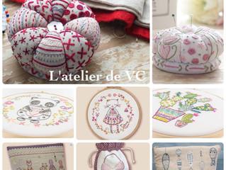 NEW COLLECTION全新法國 🇫🇷 Un Chat dans L'aiguille 刺繡材料包已到店,我地不斷為刺繡愛好者從世界各地發掘好多好多材料給大家,希望大家享受刺繡的過程,用心刺繡