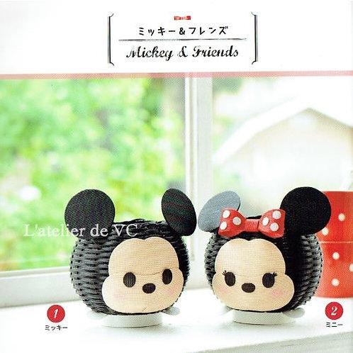 T-01 Mickey & Minnie Set (2pcs)