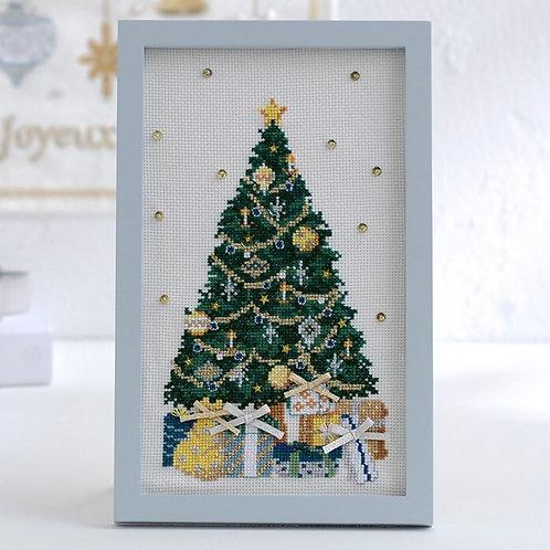 Cross Stitch Frame <Noël Tree>