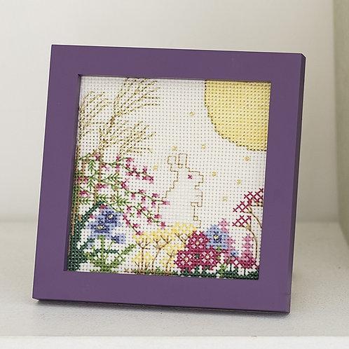 Cross Stitch Mini Frame <Full Moon>